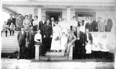 Wedding of Vera Crawford & Lee Barbee 1913