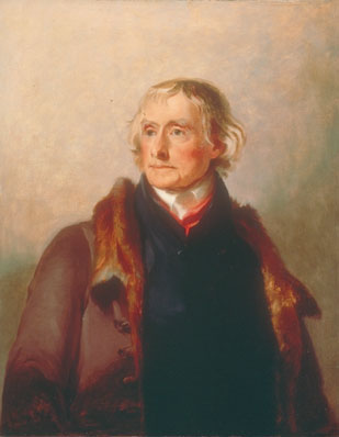 portrait by Sully of the President