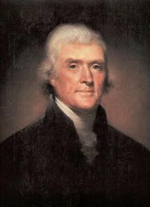 President Jefferson from Herb Bargers web site